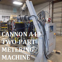 Cannon Two-Part Metering Machine