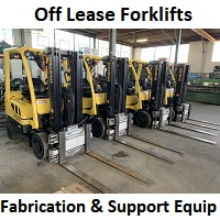 Forklifts, Fabricating, and Shop Equipment