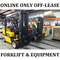 Off Lease Lift Trucks, Scissor Lifts and Support Equipment