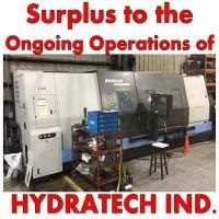 Surplus Equipment to the Continuing Operations of Hydratech Industries