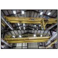 Overhead Bridge Cranes 3-Ton to 20-Ton Capacity