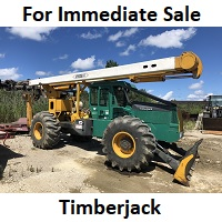 Timberjack 4-Wheel Drive Log Skidder