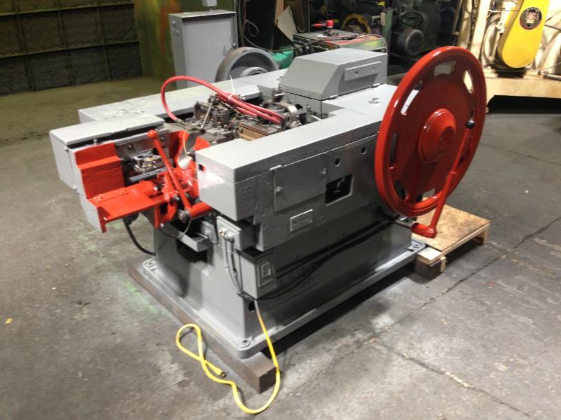 6) Wafios N5 Nail Heading Machines - Cincinnati Industrial Auctioneers