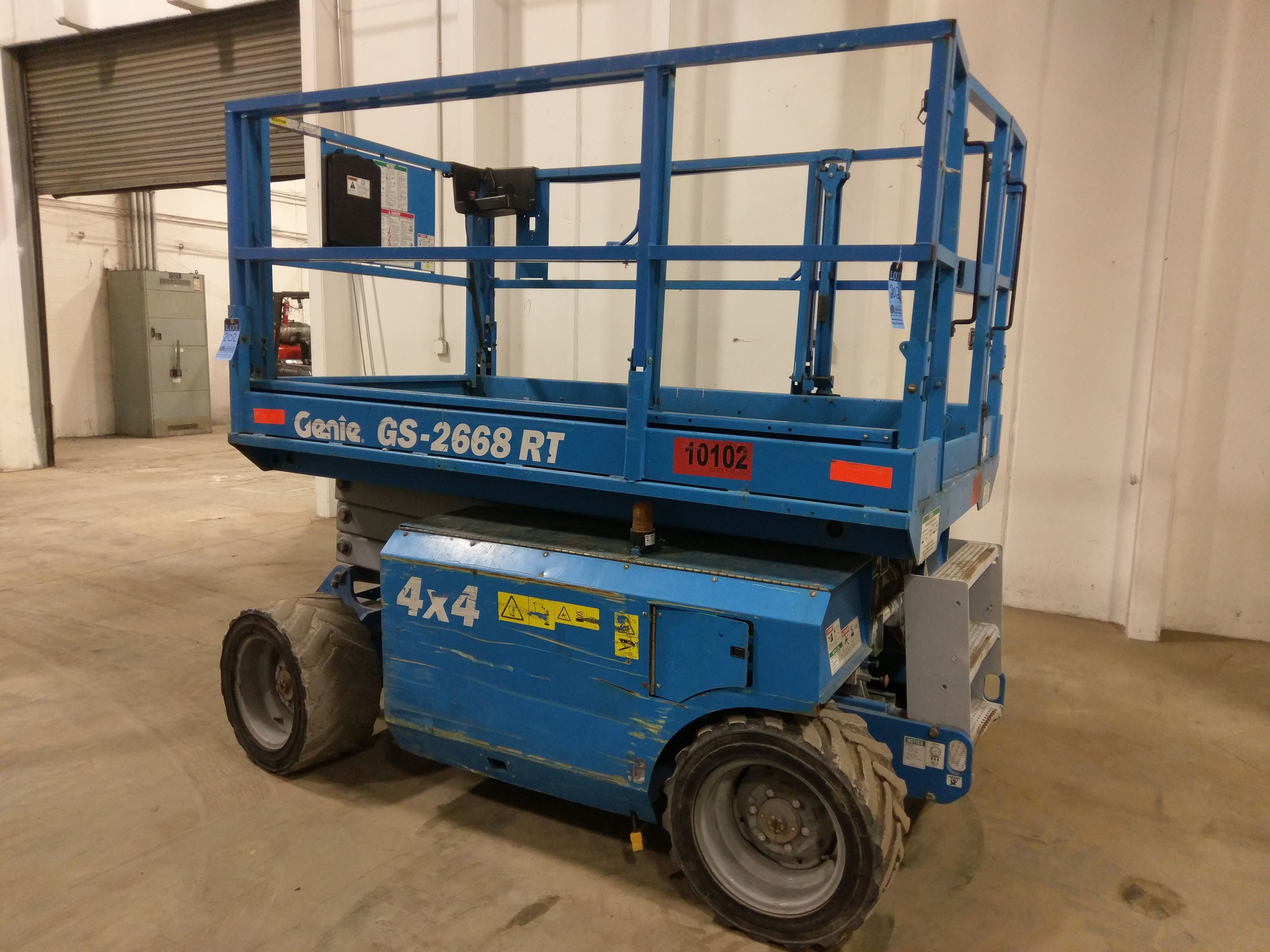 Genie Four-Wheel Drive All Terrain Scissor Lift