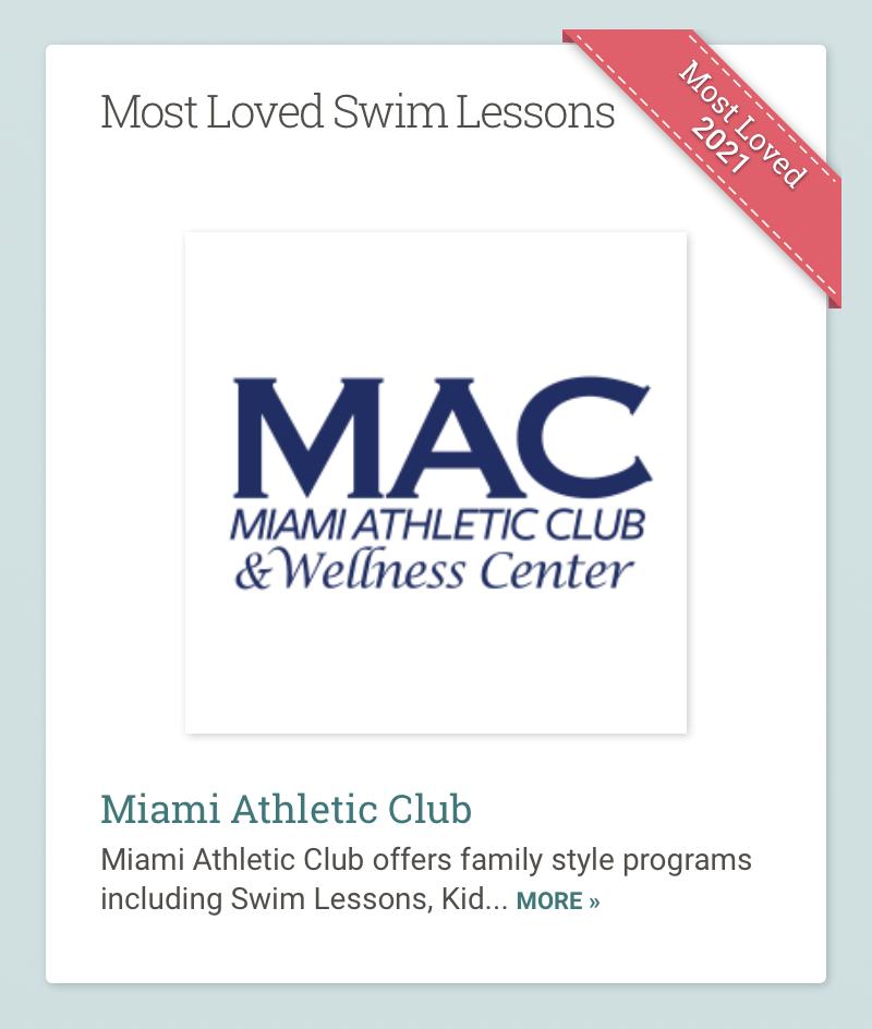 Swim Lesson Award