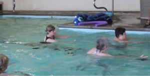 Seniors Swimming for Exercise