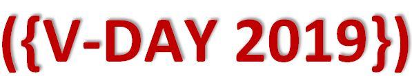 V-DAY 2019 Logo