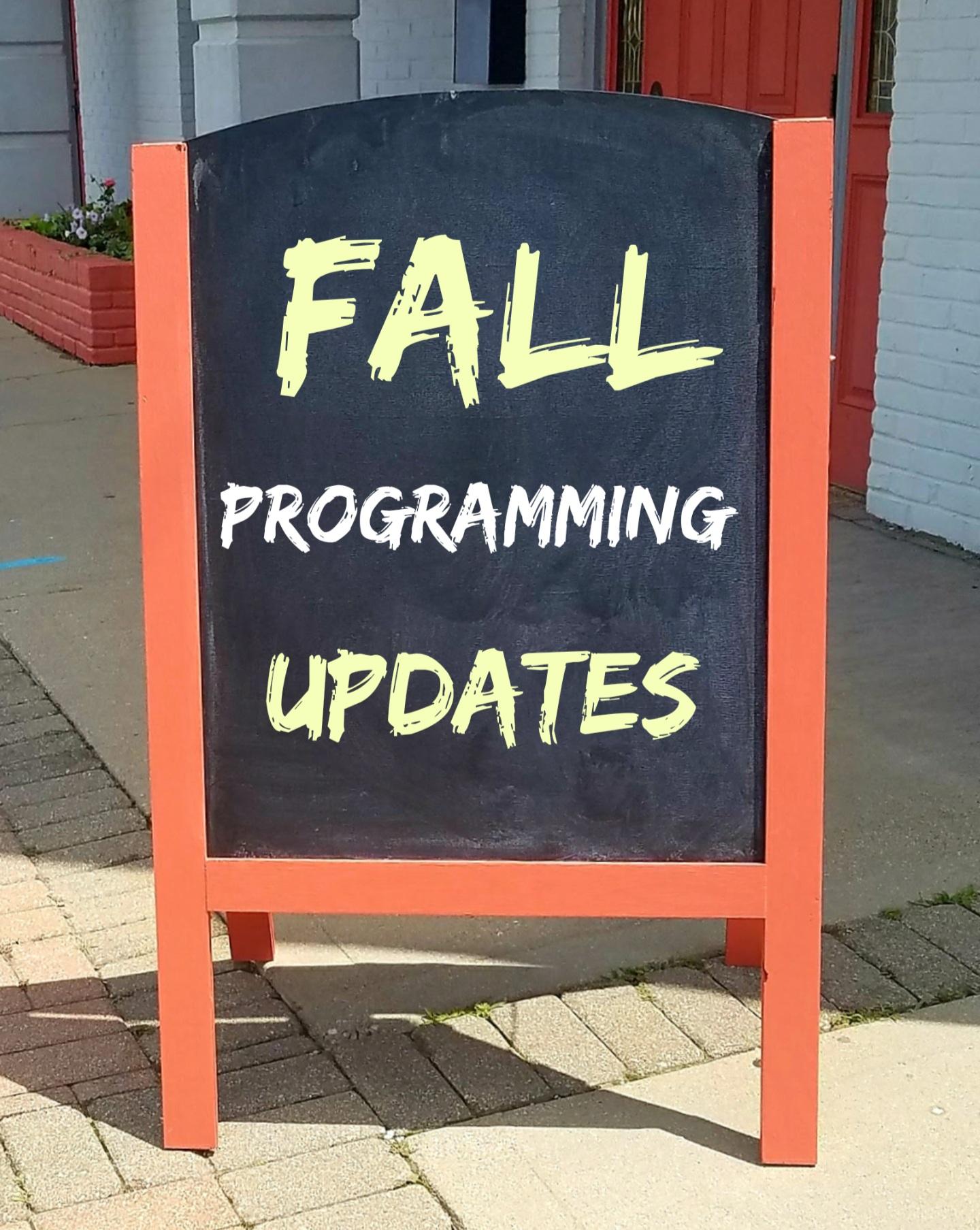 Fall Class Update Photo