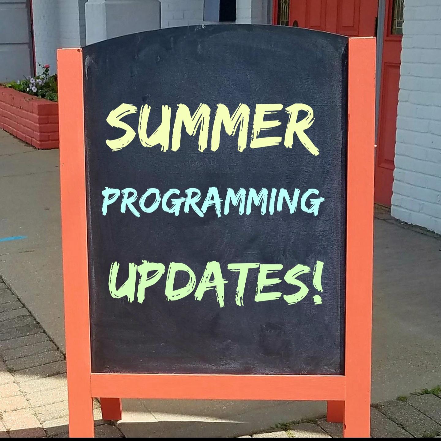 Summer 2021 Class Update Image
