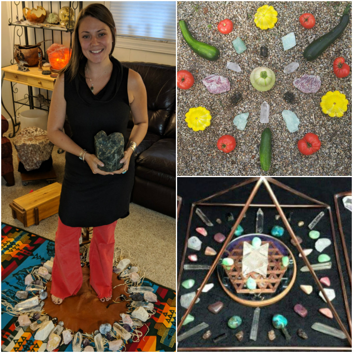 Tina Todd and Crystal Grids