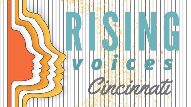 Rising Voices Cincinnati Logo