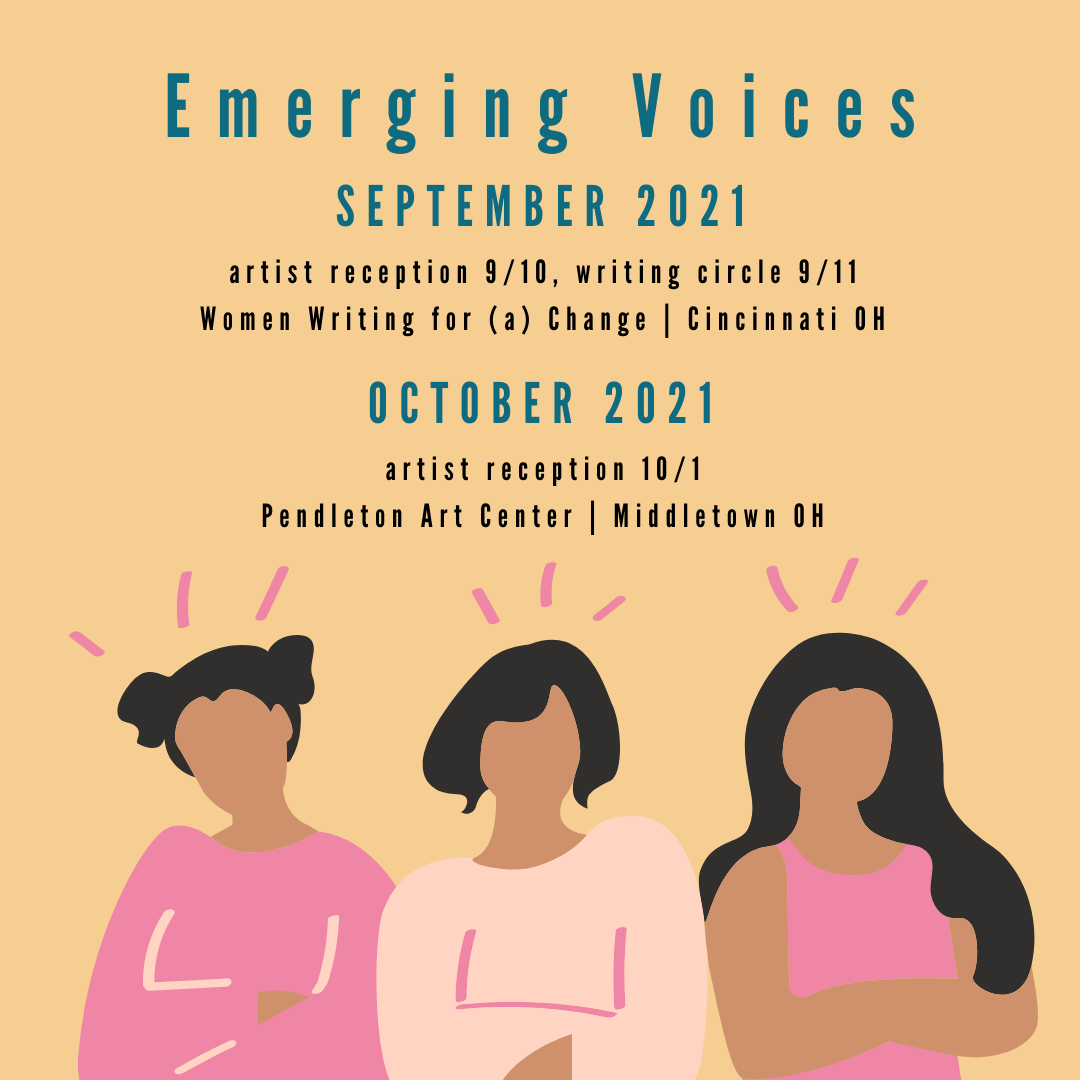 Emerging Voices 2021 Image with dates