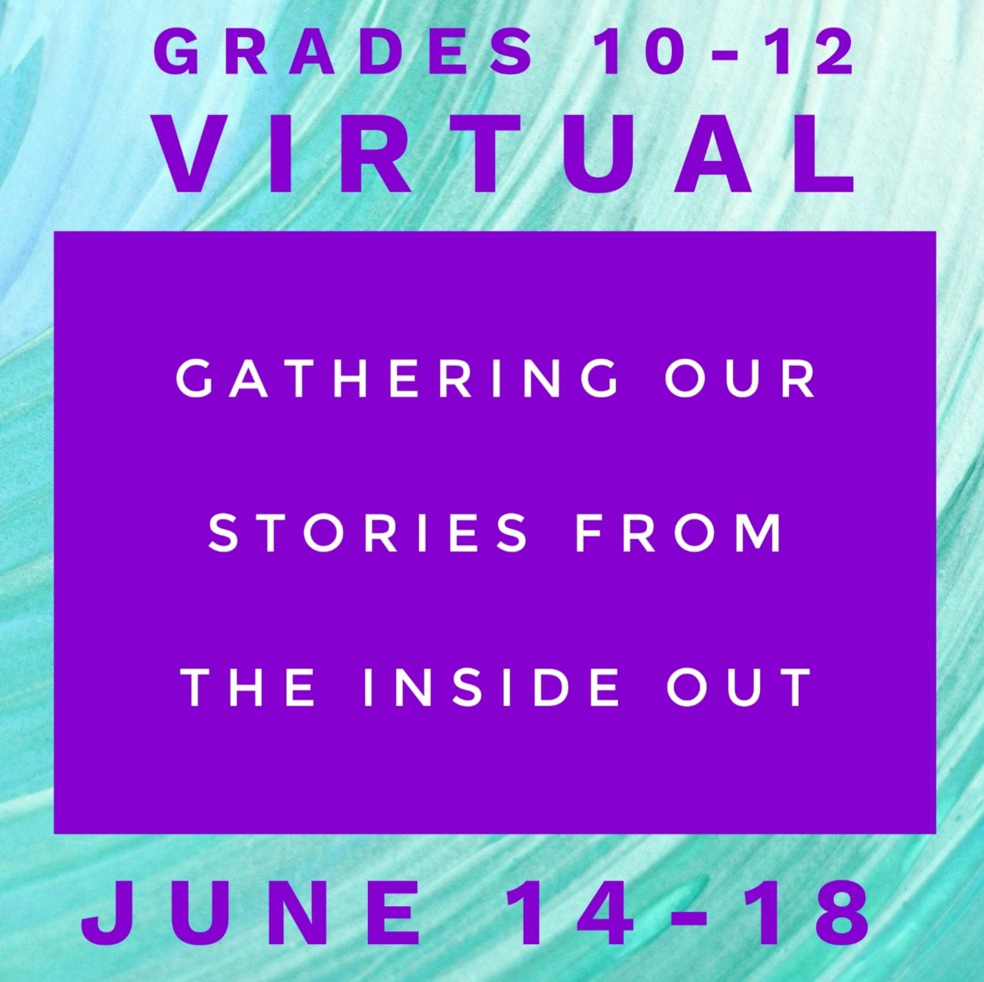 Summer Camp Grade 10-12 Virtual Image