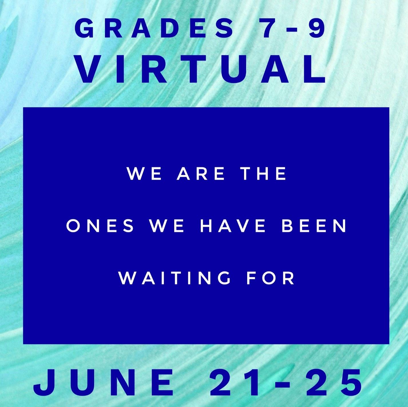 Summer Camp Grade 7-9 Virtual Image