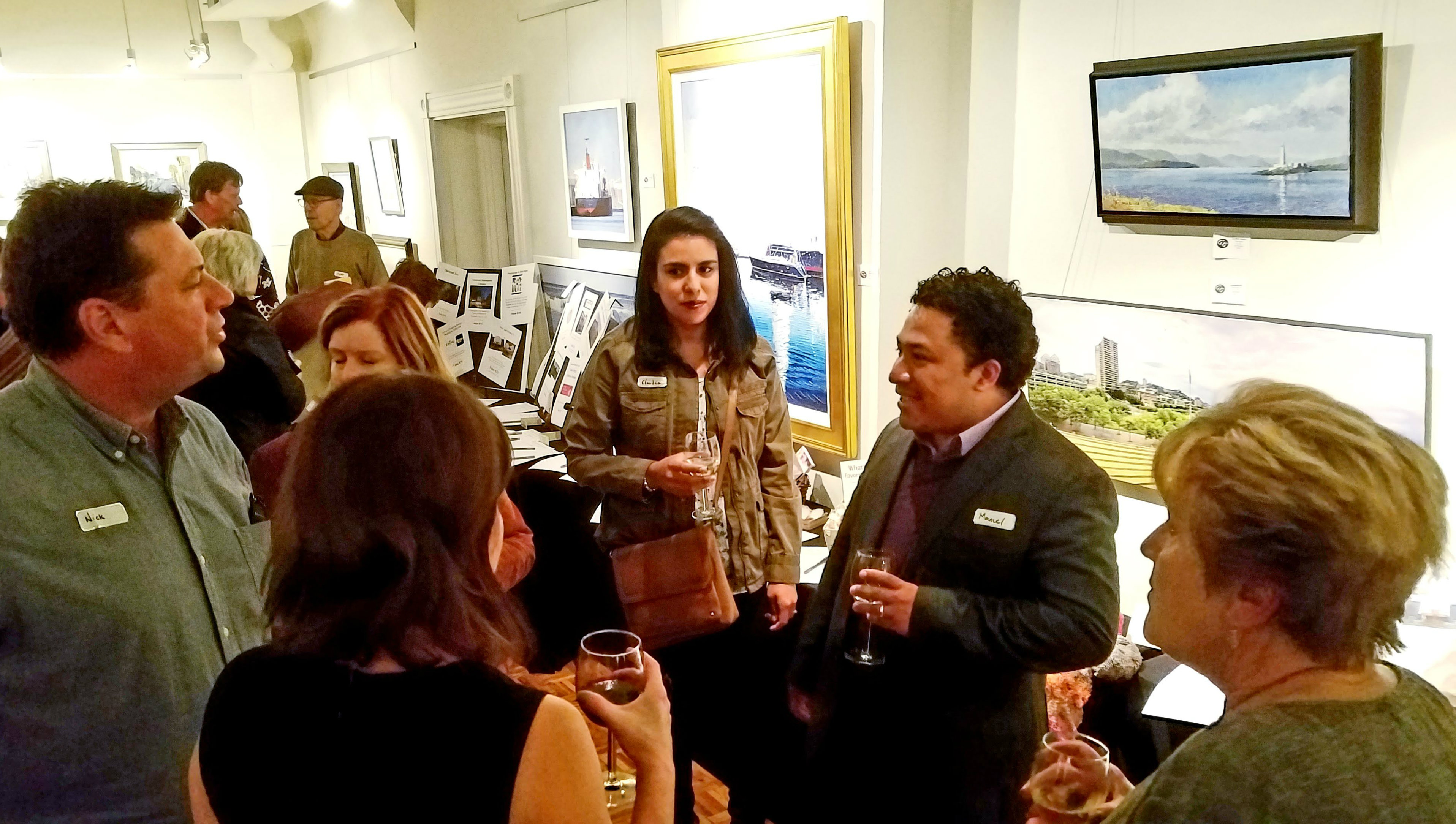 Photo From 2018 Wine & Art Event
